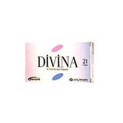 Divina 21 Tablets active ingredients Estradiol and Medroxyprogesterone