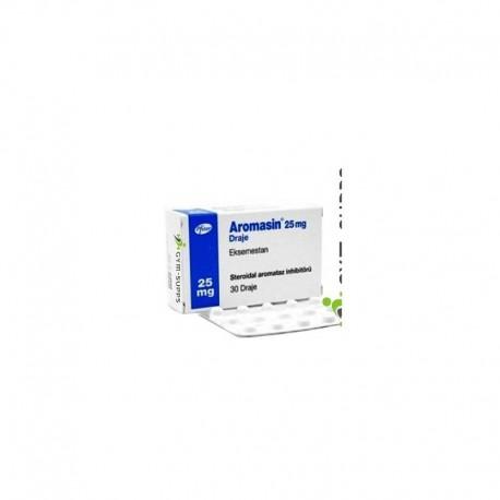 Aromasin 25 Mg 30 Tablets inggredient Exemestane