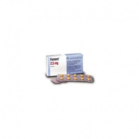 Femara 2.5 Mg 30 Tablets ingredient Letrozole