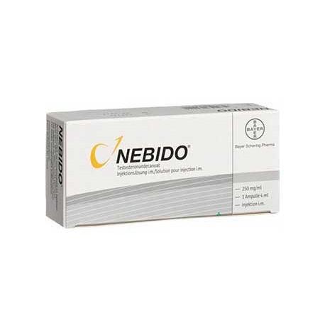 Nebido 1000 MG/4 ML Vial ingredient testosterone